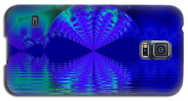 Alien Sunset Over Fantasy Lake Galaxy S5 Case