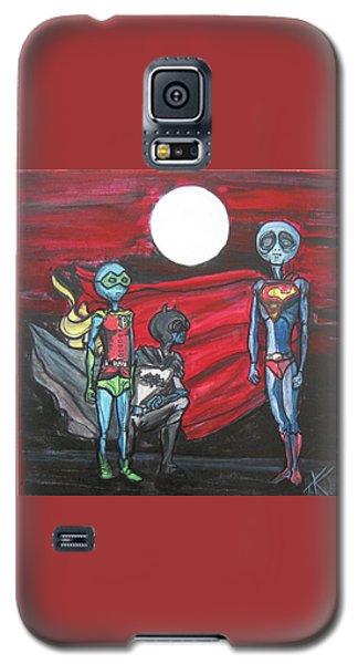 Alien Superheros Galaxy S5 Case by Similar Alien