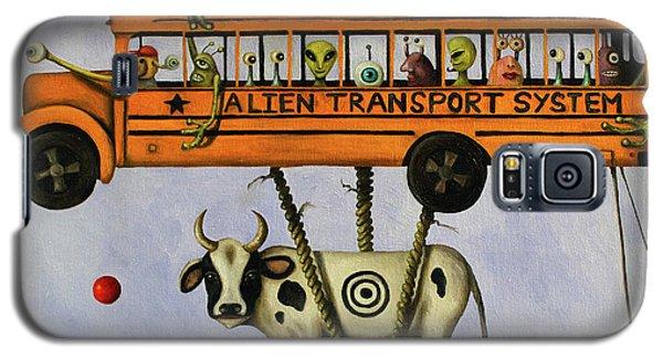 Alien Transport System Galaxy S5 Case