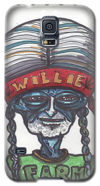 alien Willie Nelson Galaxy S5 Case