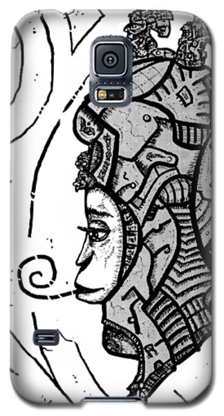 Alien Woman Galaxy S5 Case