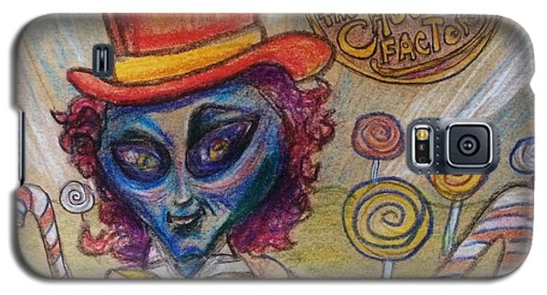 Alien Wonka And The Chocolate Factory Galaxy S5 Case