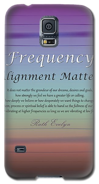 Alignment Matters Galaxy S5 Case