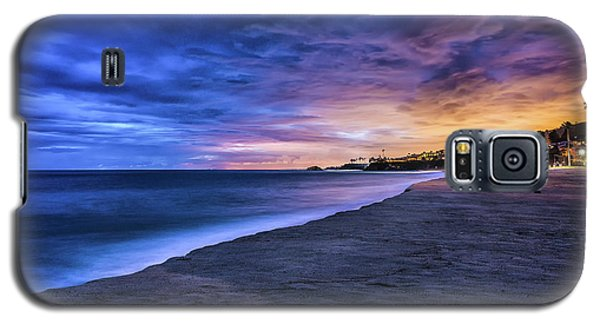 Aliso Beach Lights Galaxy S5 Case