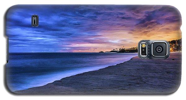 Aliso Beach Lights Galaxy S5 Case