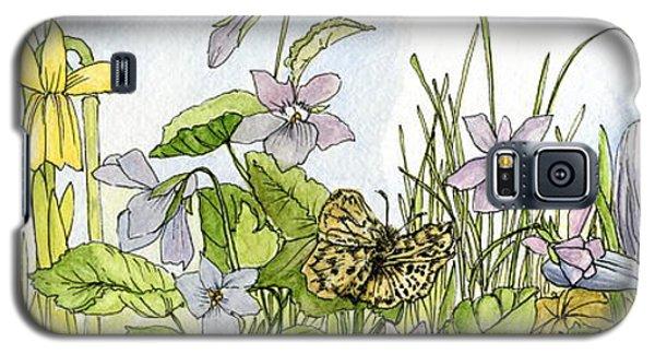 Alive In A Spring Garden Galaxy S5 Case
