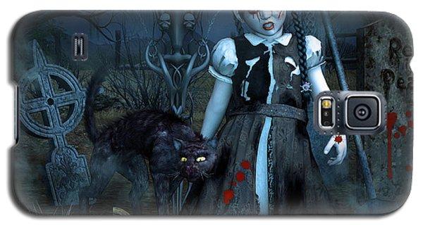 Alive Or Undead Galaxy S5 Case by Jutta Maria Pusl