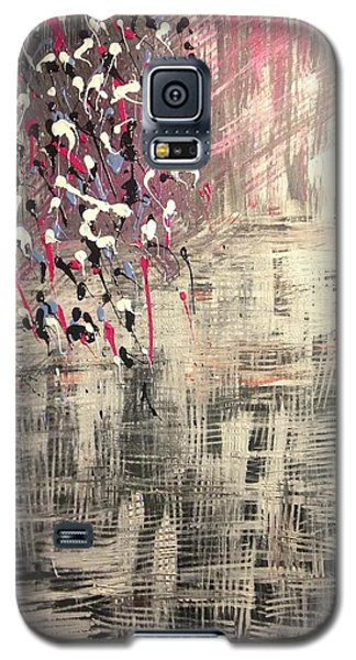 Galaxy S5 Case featuring the painting Alive  by Samimah Houston