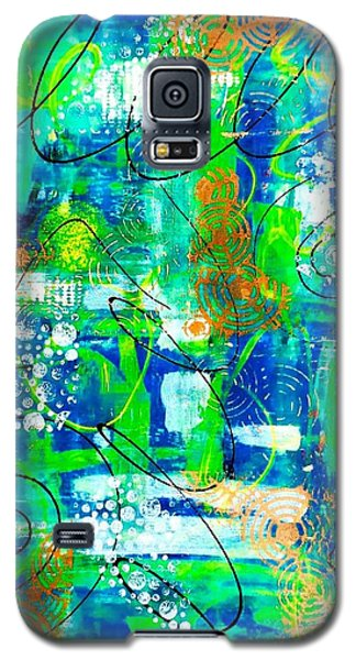 All A Whirl Galaxy S5 Case by Julie Hoyle