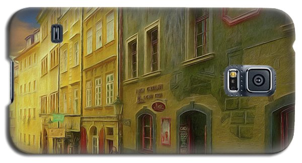 All Downhill From Here - Prague Street Scene Galaxy S5 Case