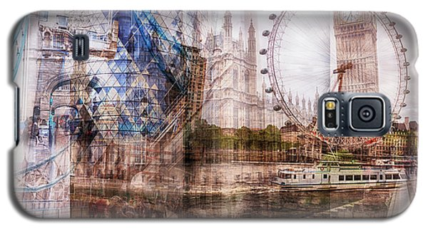 all famous building of London Galaxy S5 Case