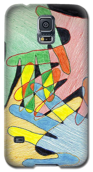 All In Galaxy S5 Case by Jean Haynes