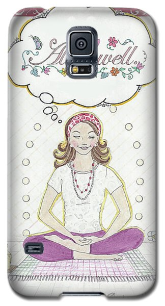 All Is Well Galaxy S5 Case