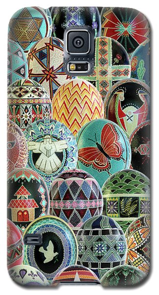 All Ostrich Eggs Collage Galaxy S5 Case