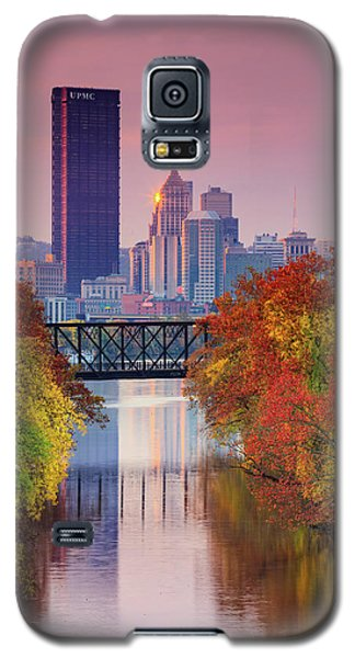 All Pittsburgh Pink  Galaxy S5 Case