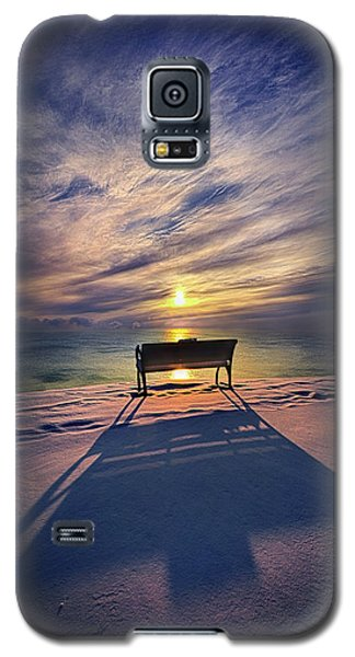 Galaxy S5 Case featuring the photograph All Shadows Chase Swift by Phil Koch