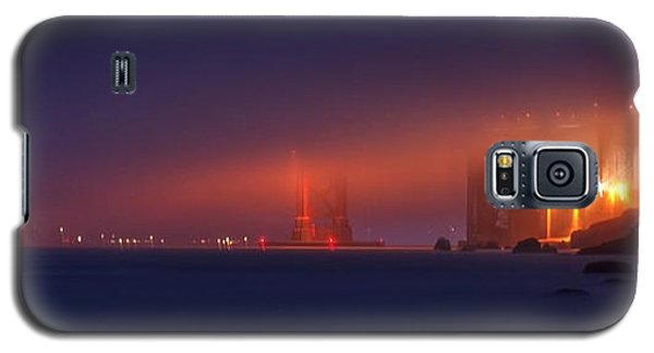 Galaxy S5 Case featuring the photograph All Upon A Foggy Night by Quality HDR Photography