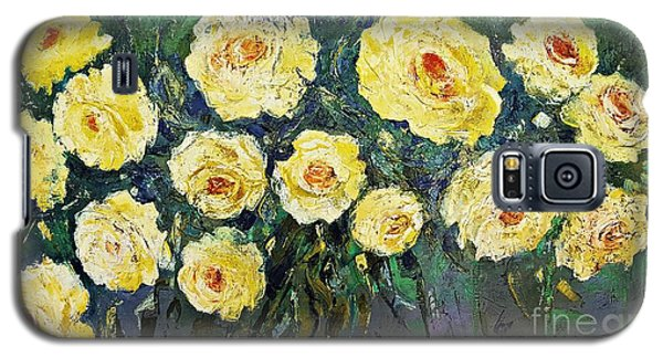 All Yellow Roses Galaxy S5 Case