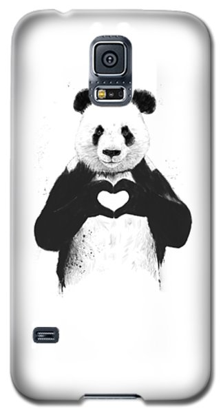 All You Need Is Love Galaxy S5 Case