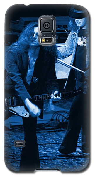 Allen Collins And Ronnie Van Zant Same Old Winterland Blues Galaxy S5 Case