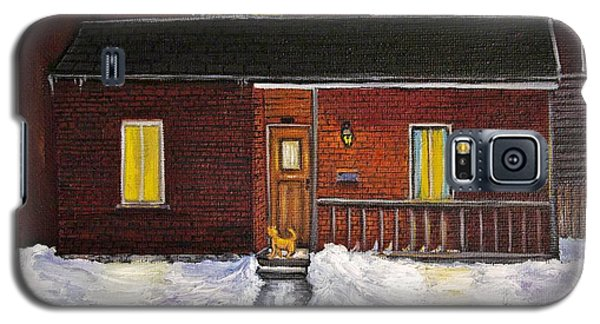 Alley Cat House Galaxy S5 Case