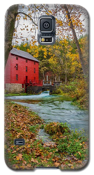 Alley Mill In Autumn Galaxy S5 Case by Jennifer White