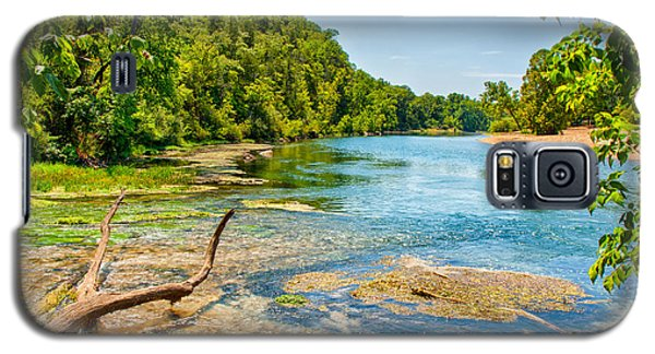 Galaxy S5 Case featuring the photograph Alley Springs Scenic Bend by John M Bailey