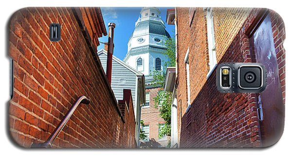 Alley View Of Maryland State House  Galaxy S5 Case