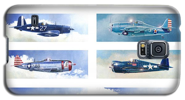 Allied Fighters Of The Second World War Galaxy S5 Case