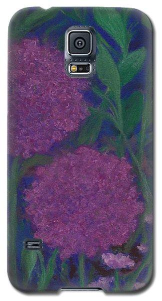 Allium And Geranium Galaxy S5 Case