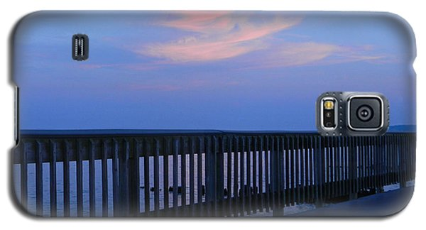Galaxy S5 Case featuring the photograph Alls Quiet On The Beach Front by Emmy Marie Vickers