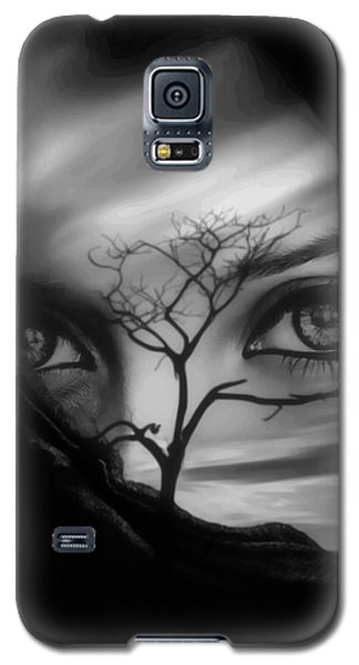 Allure Of Arabia Black Galaxy S5 Case