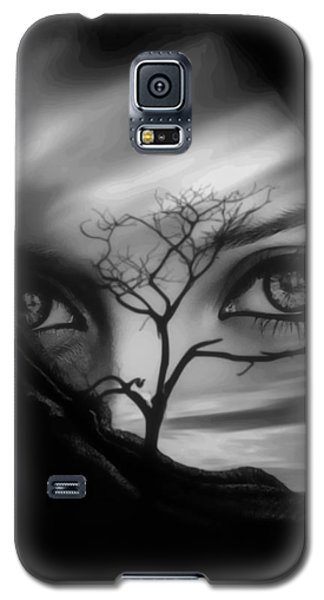 Allure Of Arabia Black Galaxy S5 Case by ISAW Gallery