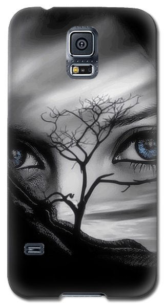 Allure Of Arabia Blue Galaxy S5 Case by ISAW Gallery