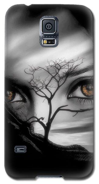 Allure Of Arabia Brown Galaxy S5 Case
