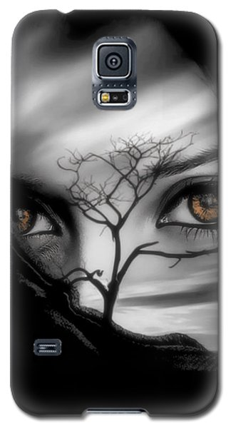 Allure Of Arabia Brown Galaxy S5 Case by ISAW Gallery