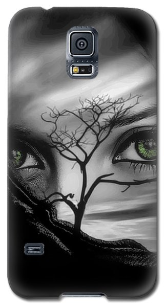 Allure Of Arabia Green Galaxy S5 Case by ISAW Gallery
