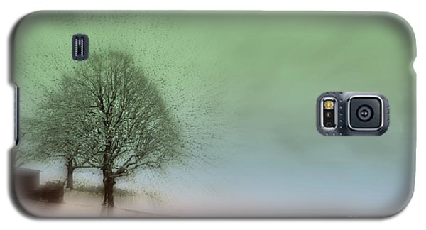 Galaxy S5 Case featuring the photograph Almost A Dream - Winter In Switzerland by Susanne Van Hulst