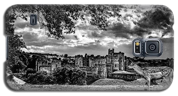 Alnwick Castle And Fallow Deer Galaxy S5 Case