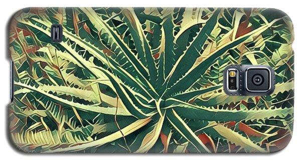 Aloha Aloe In Puna Galaxy S5 Case
