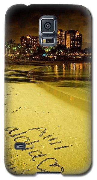 Ami Aloha Aulani Disney Resort And Spa Hawaii Collection Art Galaxy S5 Case