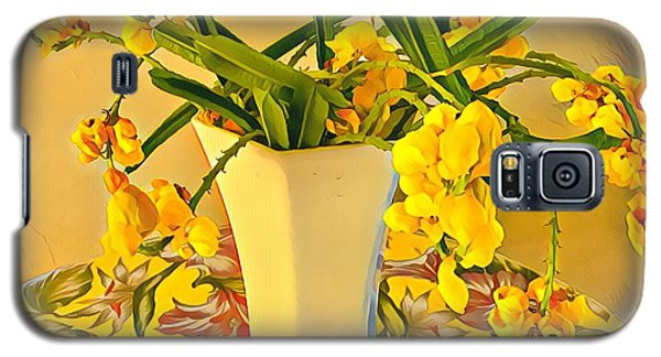 Aloha Bouquet Of The Day - Yellow Wild Flowers Galaxy S5 Case