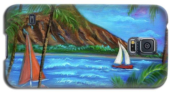 Aloha Diamond Head Galaxy S5 Case by Jenny Lee