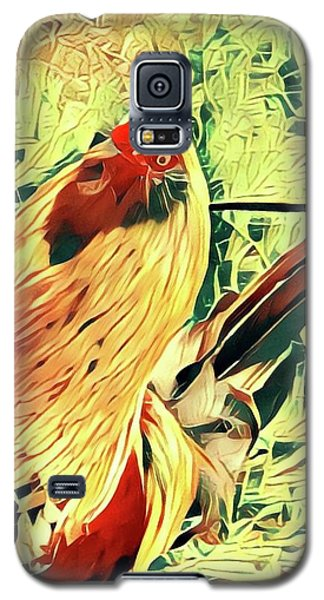 Aloha Doodle Doo Galaxy S5 Case