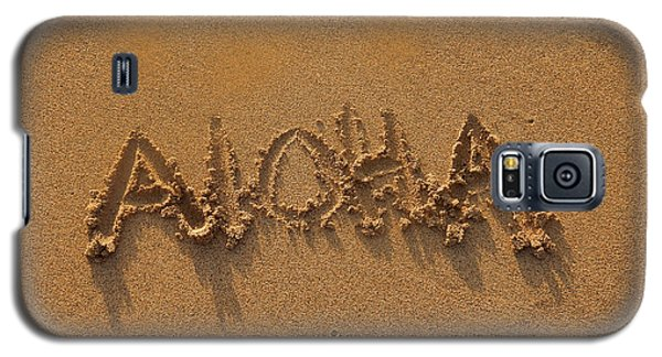 Aloha In The Sand Galaxy S5 Case