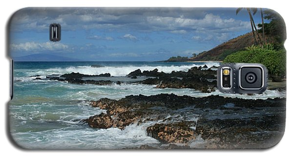 Aloha Island Dreams Paako Beach Makena Secret Cove Hawaii Galaxy S5 Case