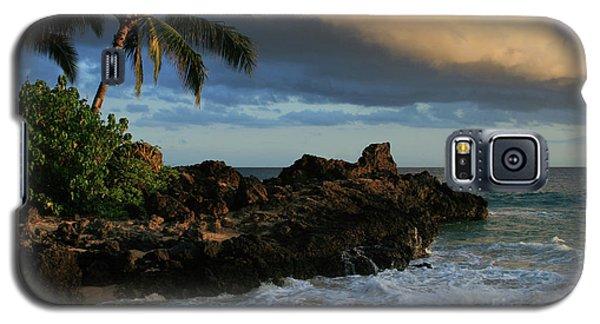Aloha Naau Sunset Paako Beach Honuaula Makena Maui Hawaii Galaxy S5 Case