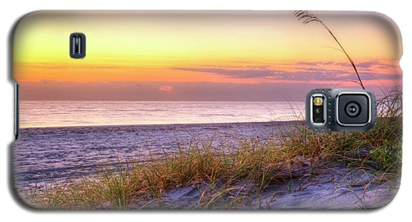 Galaxy S5 Case featuring the photograph Alone At Dawn by Debra and Dave Vanderlaan
