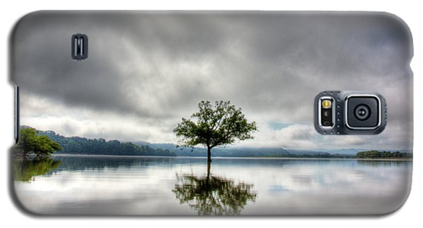 Galaxy S5 Case featuring the photograph Alone by Douglas Stucky