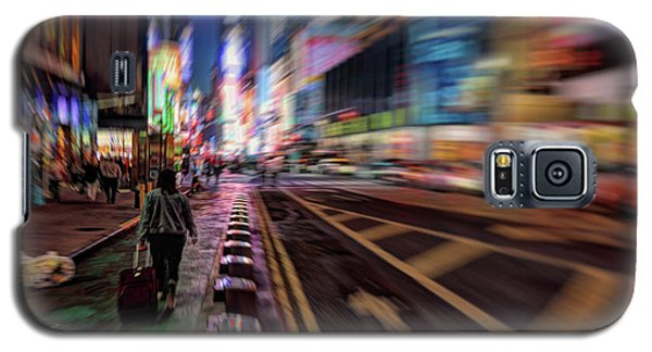 Alone In New York City 2 Galaxy S5 Case